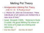 melting pot theory