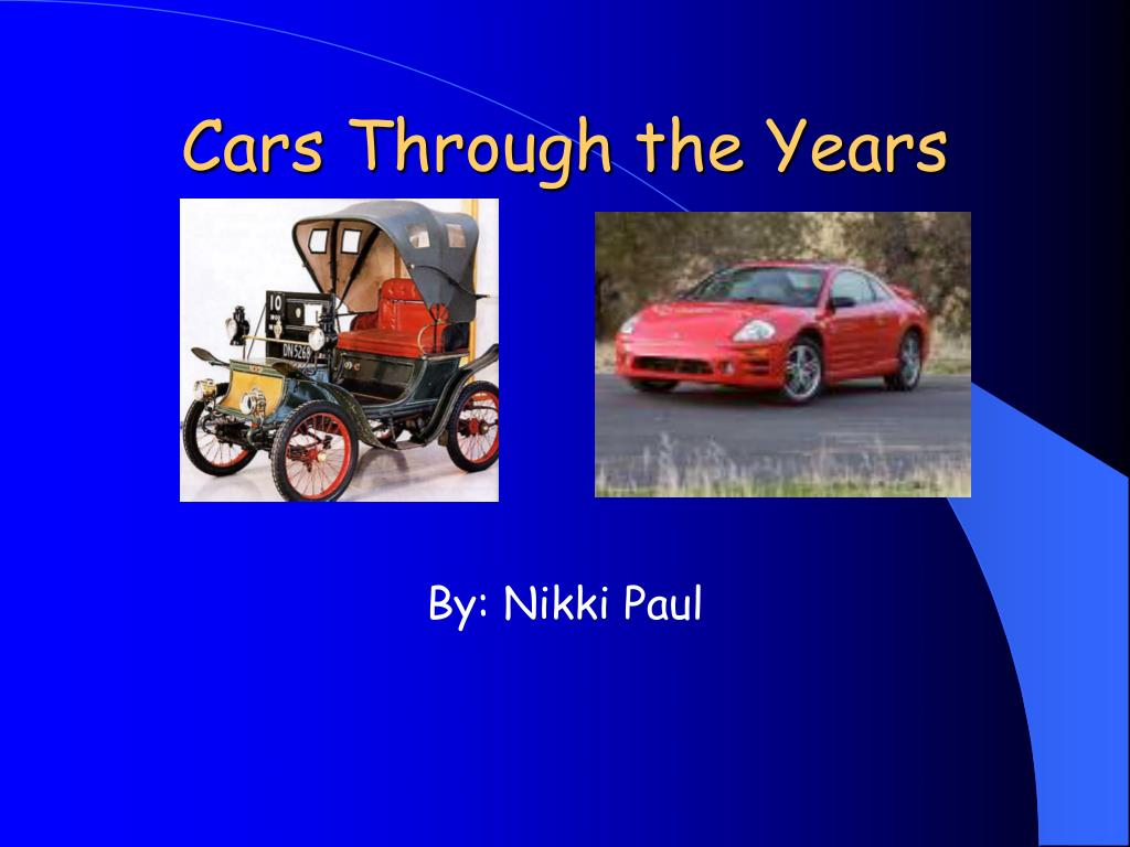 cars through the years l.