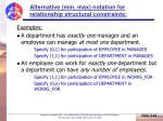 alternative min max notation for relationship structural constraints44