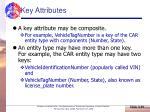 key attributes