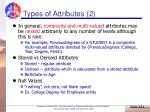 types of attributes 2