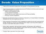 dorado value proposition