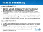 redcell positioning
