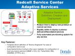 redcell service center adaptive services