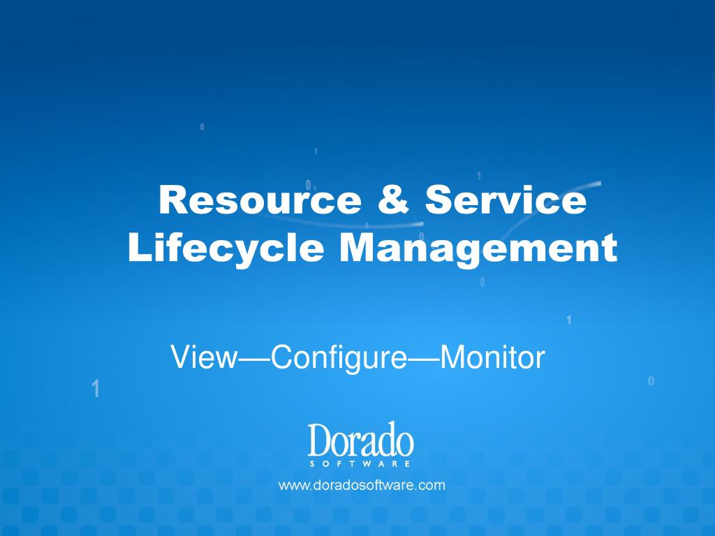 resource service lifecycle management l.