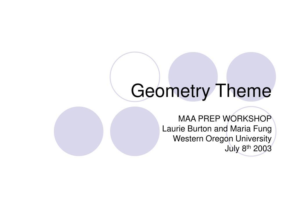 geometry theme l.