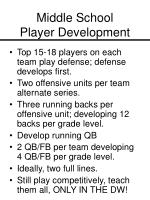 middle school player development11