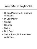 youth ms playbooks