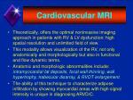 cardiovascular mri