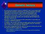 genetic factors5