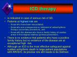 icd therapy