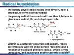 radical autoxidation45