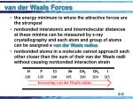 van der waals forces9