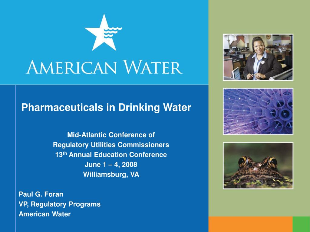 pharmaceuticals in drinking water l.