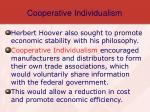 cooperative individualism