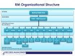 rm organizational structure