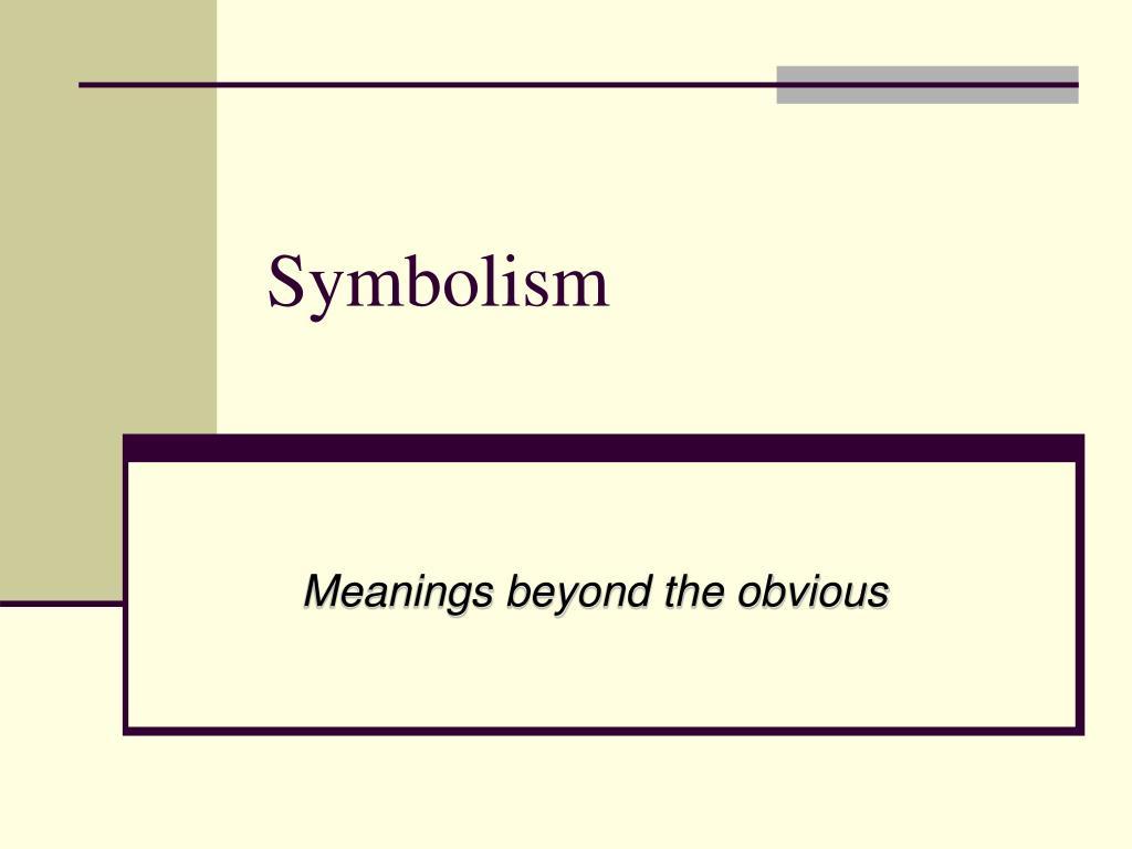 symbolism l.