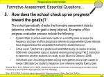 formative assessment essential questions90
