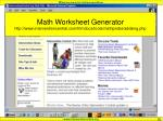 math worksheet generator http www interventioncentral com htmdocs tools mathprobe addsing php