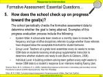 formative assessment essential questions71