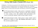 writing cbm goals in student ieps wright 199266