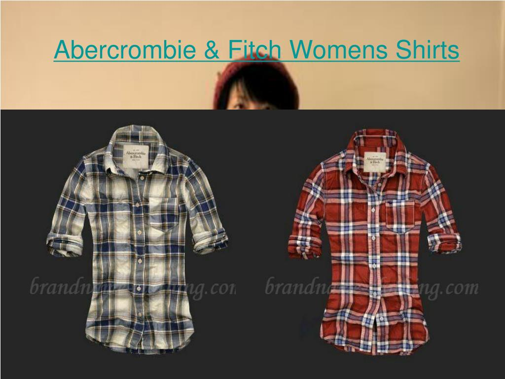 abercrombie fitch womens shirts l.
