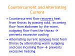 countercurrent and alternating current