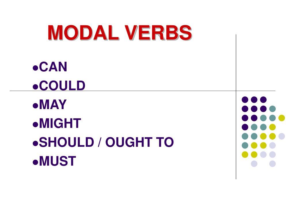 modal verbs l.