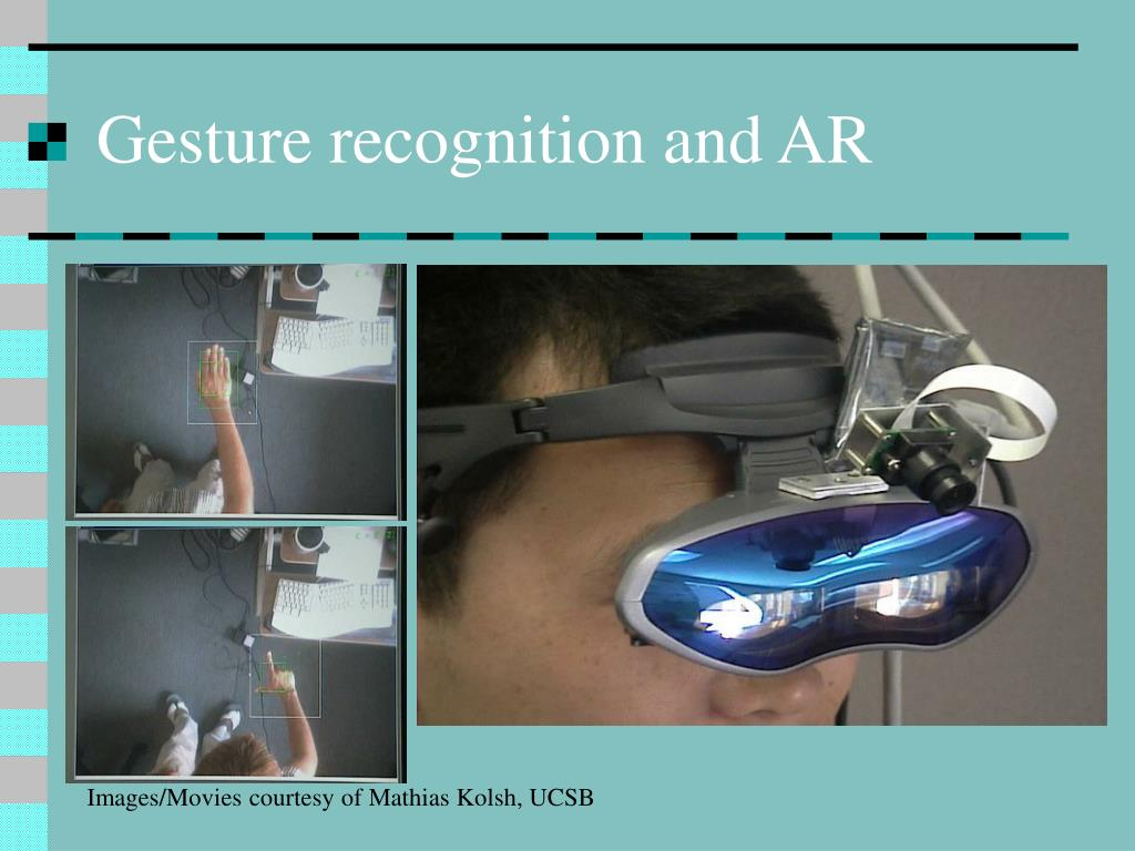 Gesture recognition and AR