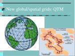 new global spatial grids qtm