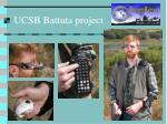 ucsb battuta project