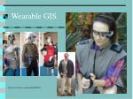 wearable gis