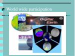 world wide participation