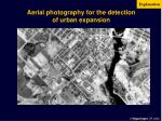 aerial photography for the detection of urban expansion