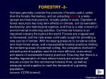 forestry 2