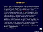 forestry 4