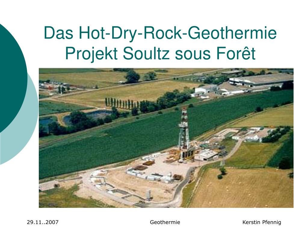das hot dry rock geothermie projekt soultz sous for t l.