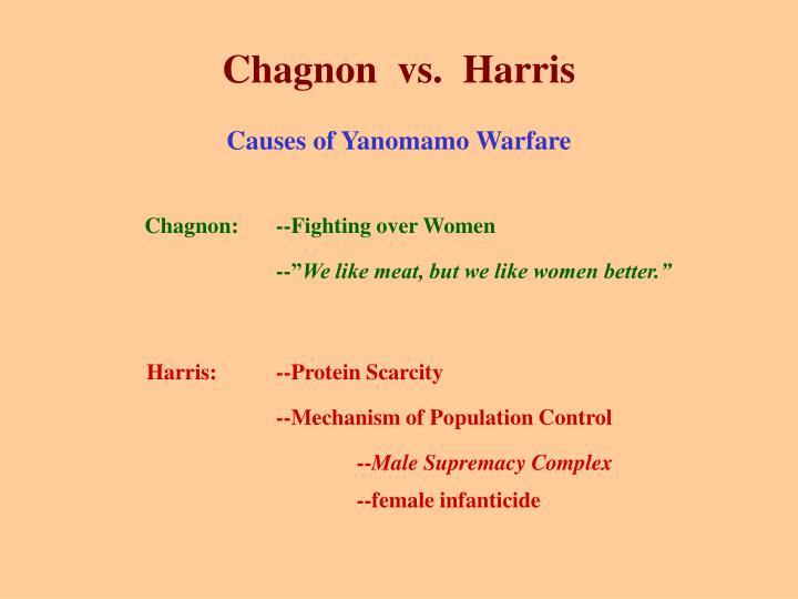 Chagnon  vs.  Harris