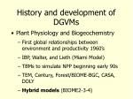 history and development of dgvms7
