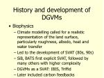 history and development of dgvms9