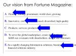 our vision from fortune magazine17