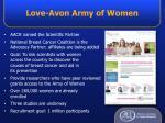 love avon army of women