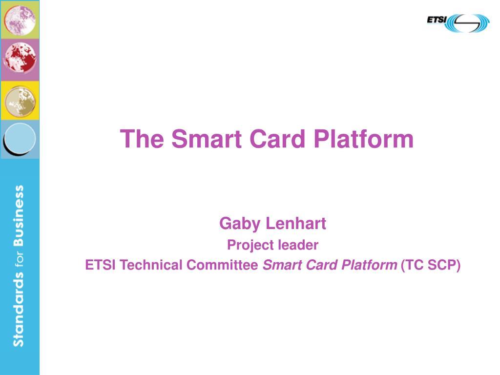 the smart card platform l.