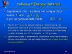 calore ed energia interna