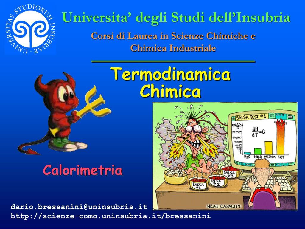 termodinamica chimica l.