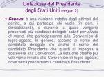 l elezione del presidente degli stati uniti segue 2