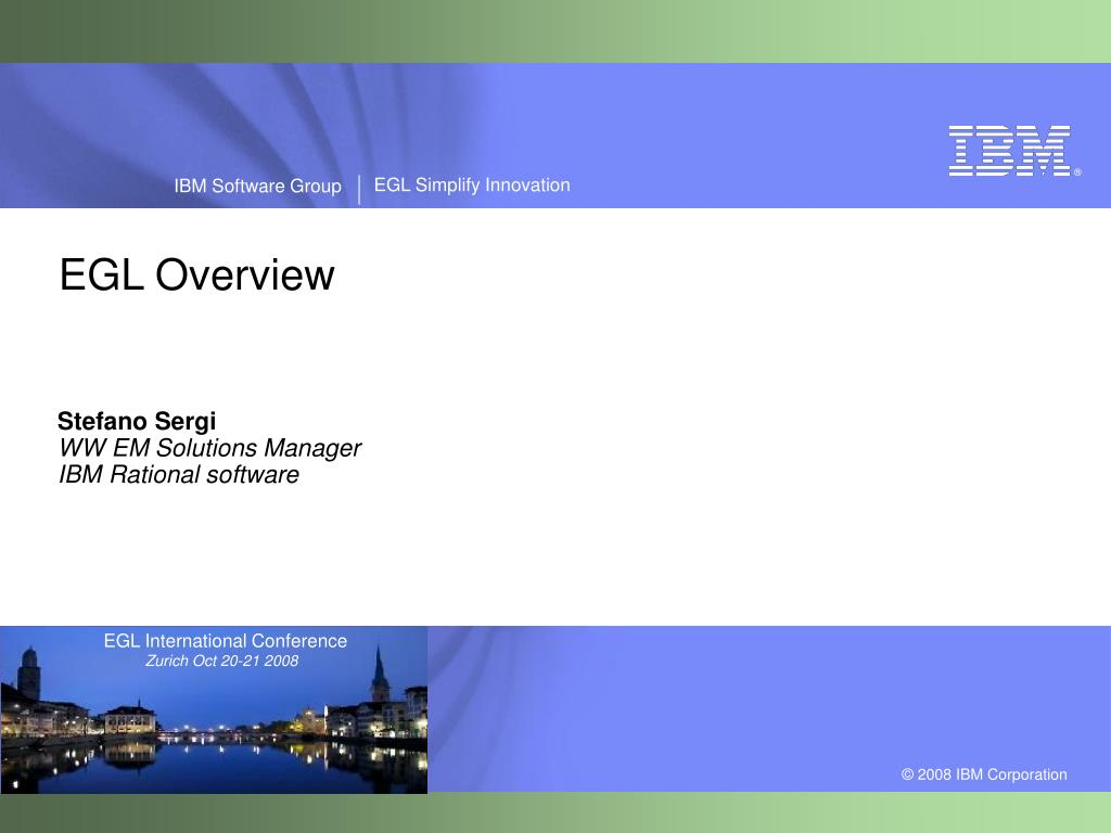 stefano sergi ww em solutions manager ibm rational software l.