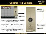 control ptz camera