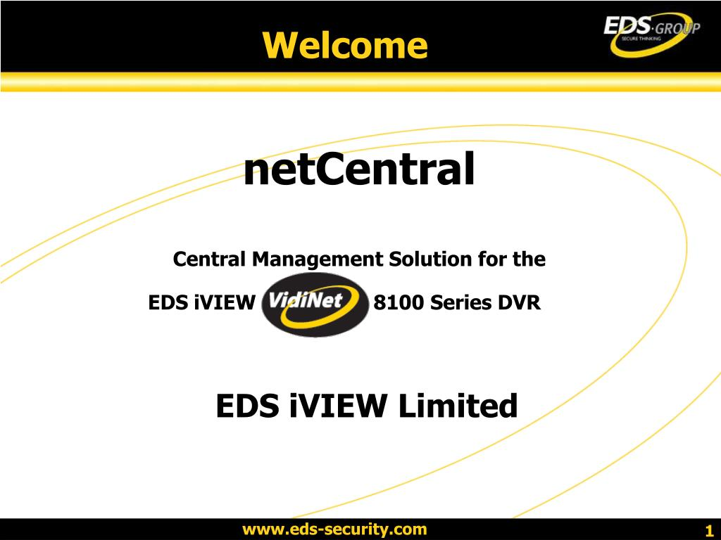 netcentral central management solution for the l.