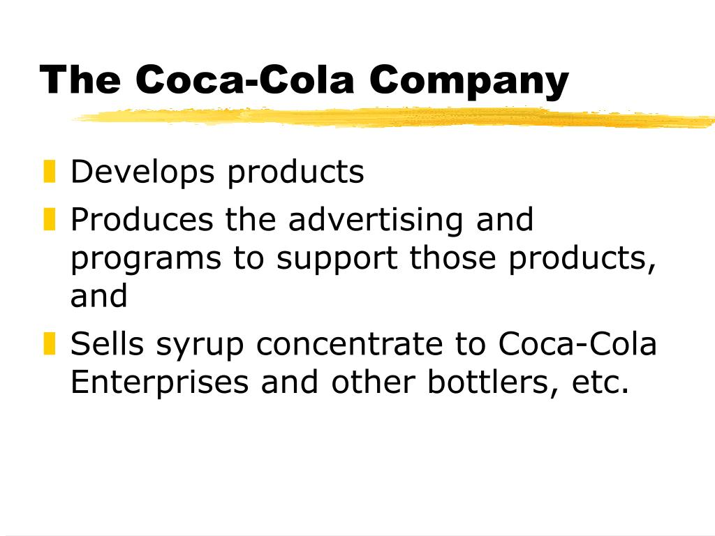 the coca cola company l.